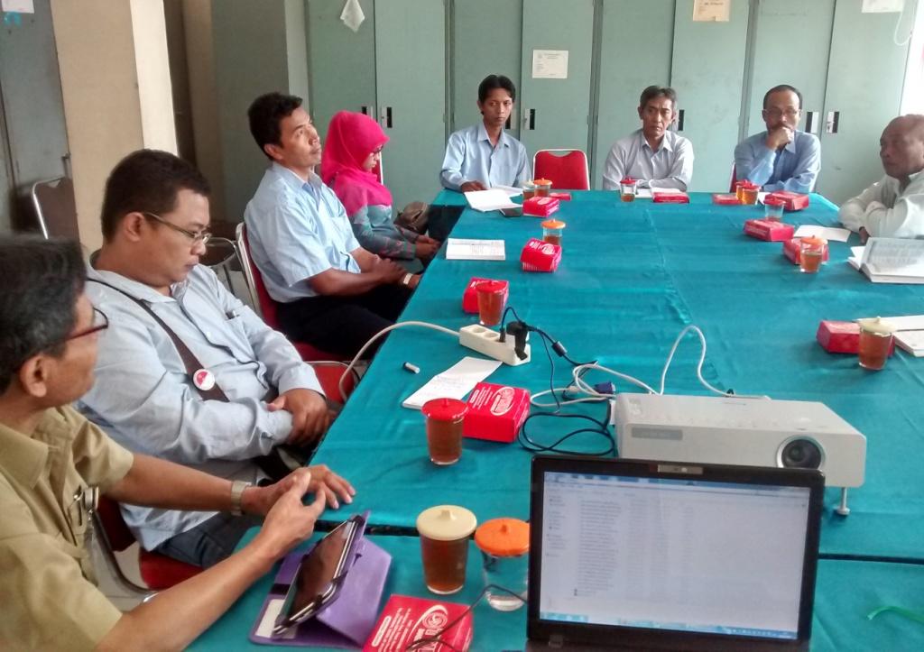 Monitoring Aplikasi SIAK Desa di Kabupaten Sleman, tahap III 2015