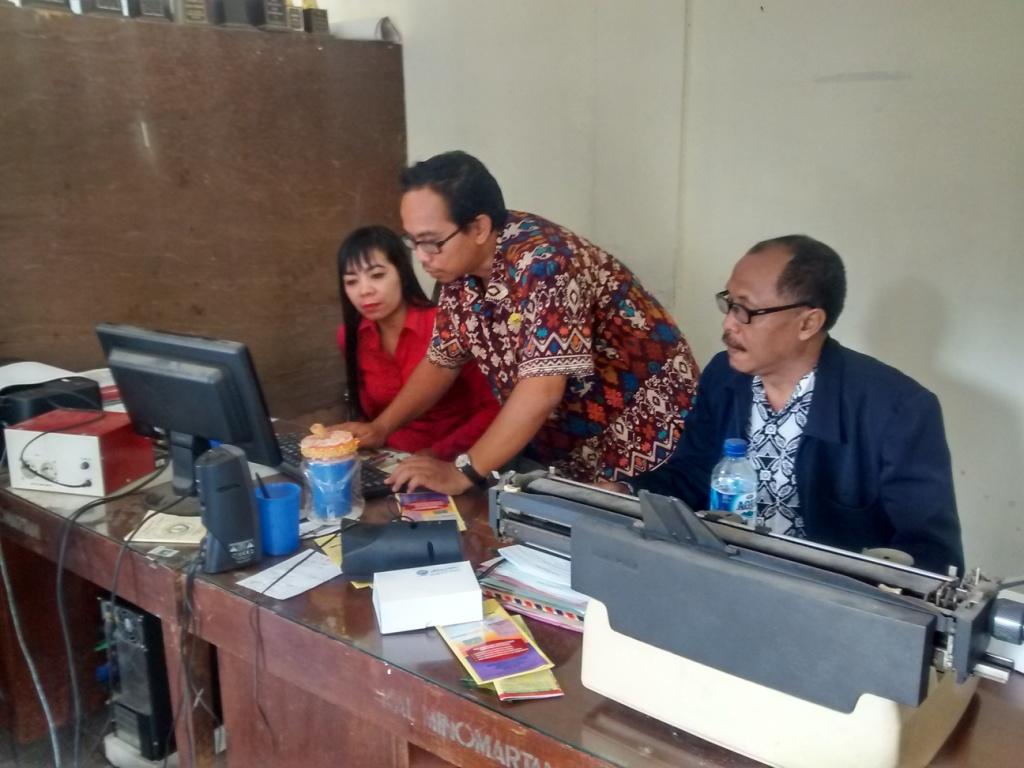 Pendampingan Aplikasi SIAK di Desa Minomartani, Kabupaten Sleman