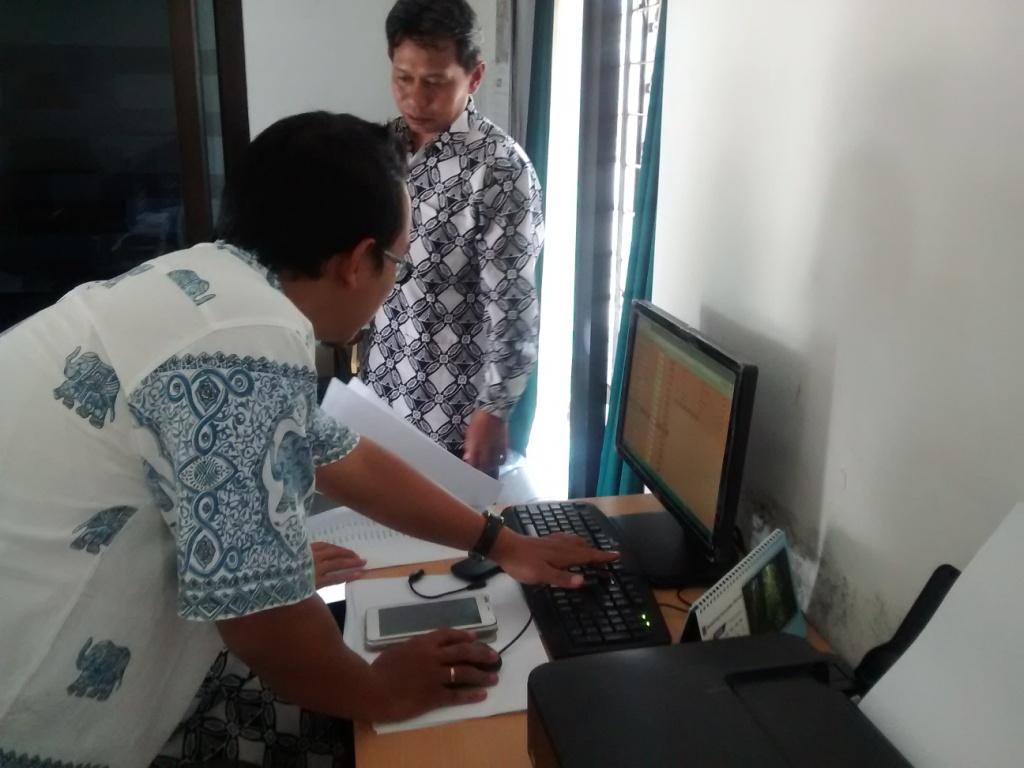Pelatihan Aplikasi SIAK Desa, tahun 2015