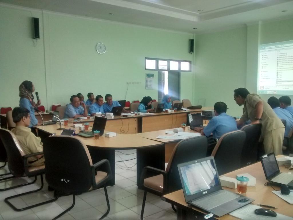 Bimtek SIAK desa/kelurahan angkatan ketiga, hari pertama, Kabupaten Gunung Kidul