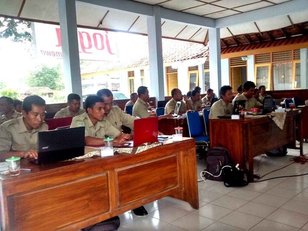Bimtek SIAK desa/kelurahan angkatan keempat, hari kedua, Kabupaten Gunung Kidul