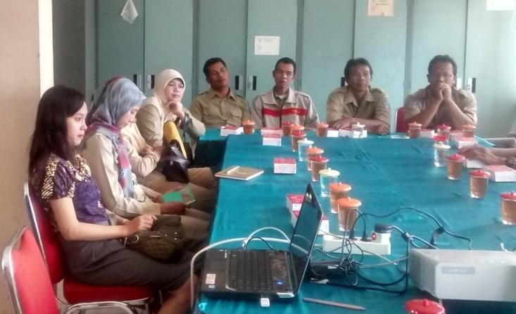 Monitoring Aplikasi SIAK Desa di Kabupaten Sleman, Tahap I 2015