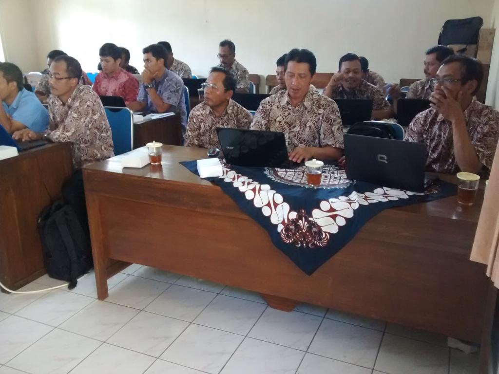 Bimtek SIAK desa/kelurahan angkatan kelima, hari kedua, Kabupaten Gunung Kidul