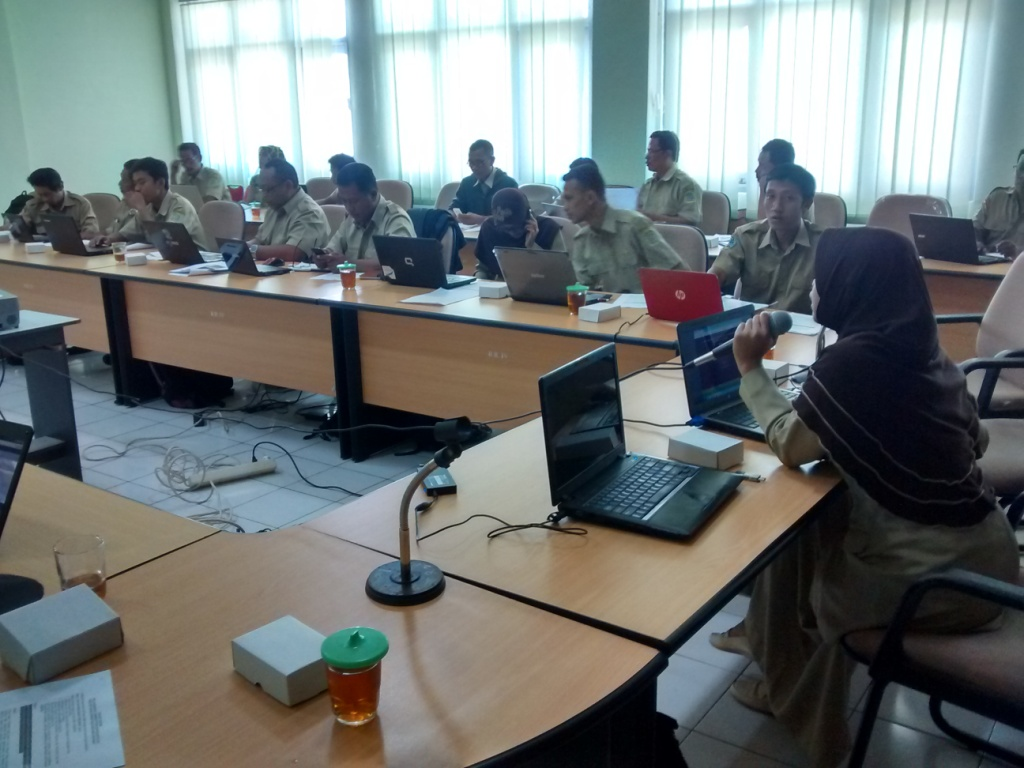 Bimtek SIAK desa/kelurahan angkatan keenam, hari pertama, Kabupaten Gunung Kidul