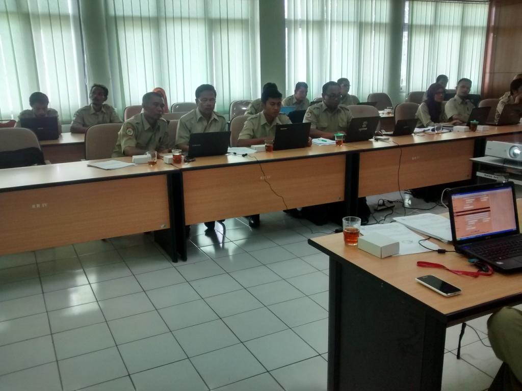 Bimtek SIAK desa/kelurahan angkatan keenam, hari kedua, Kabupaten Gunung Kidul