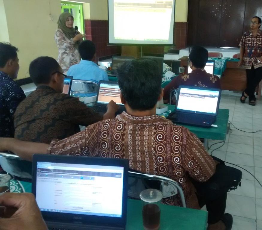 Bimtek SIAK desa/kelurahan angkatan pertama, hari kedua, Kabupaten Kulon Progo
